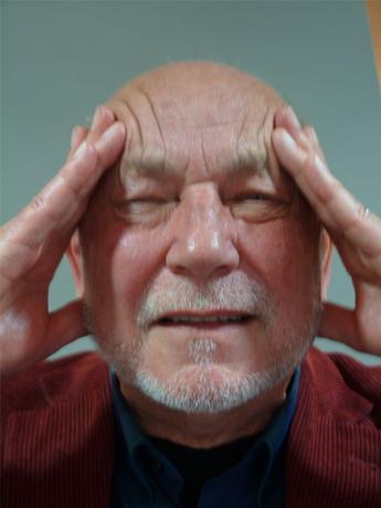 Kopfschmerzen aufgrund von Sehproblemen
